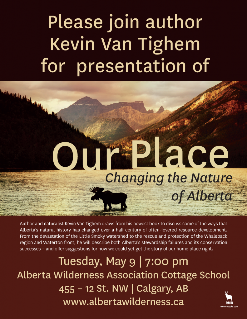 Our Place: Changing the Nature of Alberta Poster