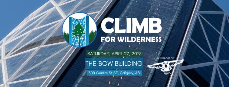 Climb for Wilderness Banner