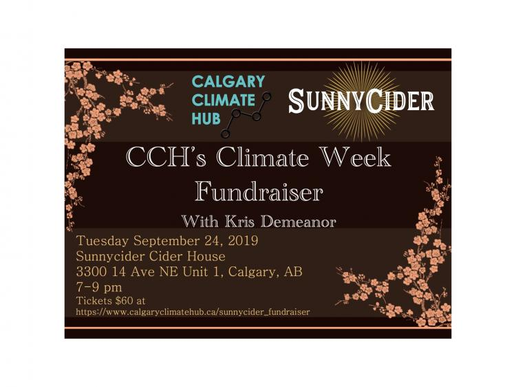 CCH's Climate Week Fundraiser