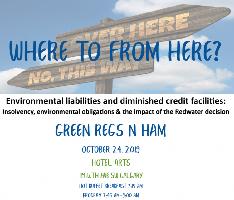 ELC Green Regs and Ham - Calgary - October 24