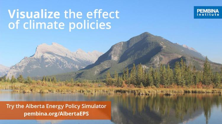 Visualize the effect of climate policies: Try the Alberta Energy Policy Simulator