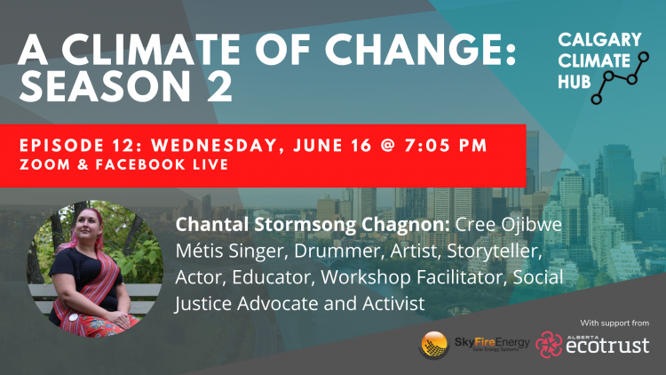 Chantal Stormsong Chagnon: A Climate of Change Poster