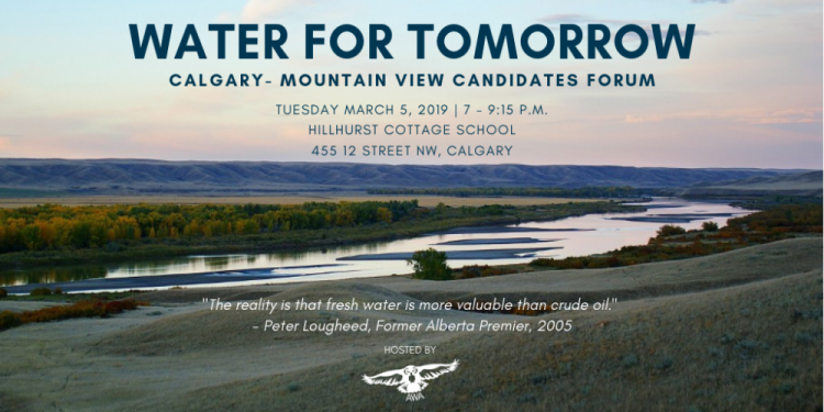 Water for Tomorrow: Candidates Forum
