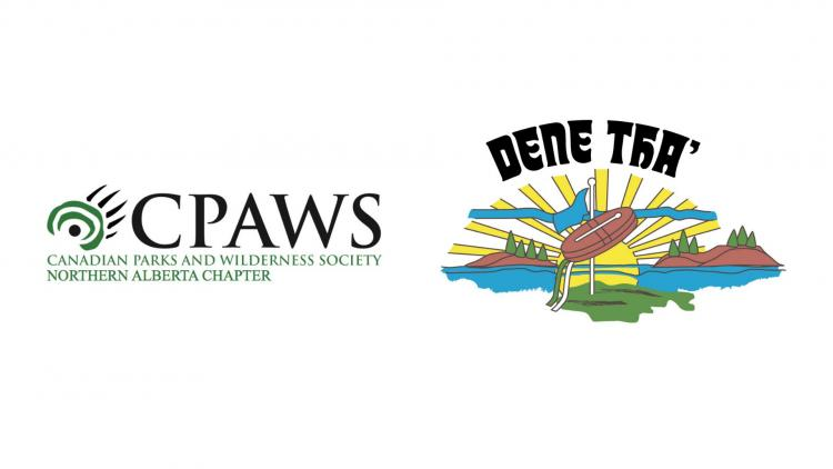 CPAWS and Dene Tha' Logos