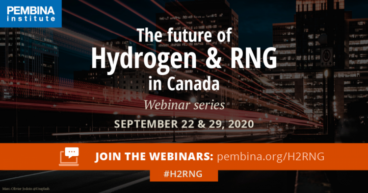 The Future of Hydrogen & RNG in Canada Webinar Series