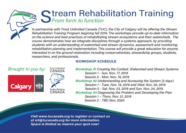 Stream Rehabilitation Training - Trout Unlimited Canada