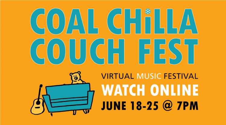Coal Chilla Couch Fest Banner