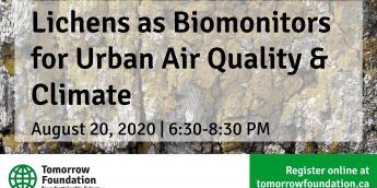 August 20 - Lichens Webinar Poster